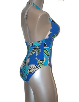 Empreinte nageur tropical bleu dos