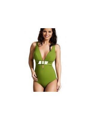 Empreinte nageur Equilibre Décolleté vert