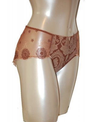 Empreinte Lily rose shorty Acajou