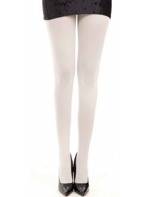 Collant opaque 80 Den Pamela Mann blanc