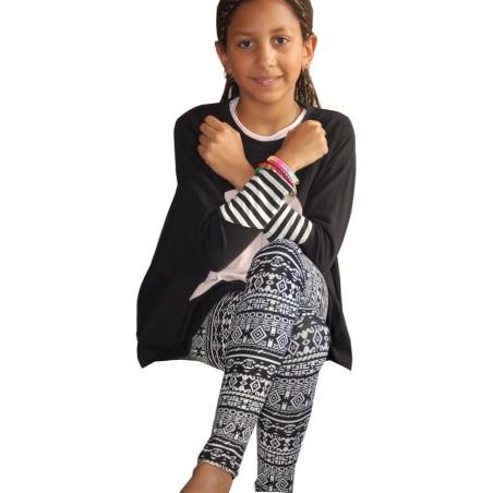 Legging Enfant motif géométrique
