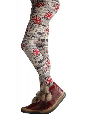 Legging Enfant journal et british flag