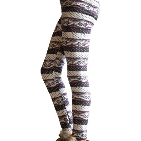 Caleçon Enfant Norvégien tricoté détail