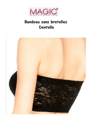 Bandeau en dentelle Magic Body Fashion arrière
