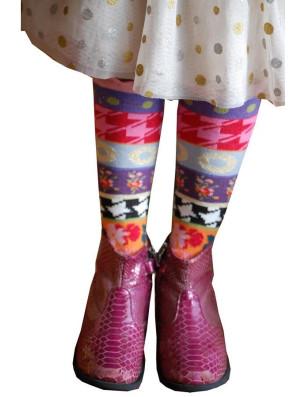 Mi bas Enfant Dub Et Drino Marguerites psyché avec chaussures
