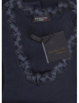 Chemise en laine et soie manche longues Moretta 5347