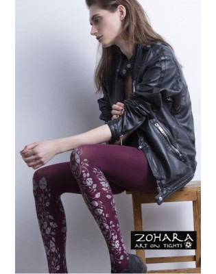 Collant Zohara bordeaux Forrest