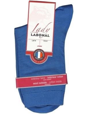 Chaussettes Labonal Laine intérieure coton bleu super hero