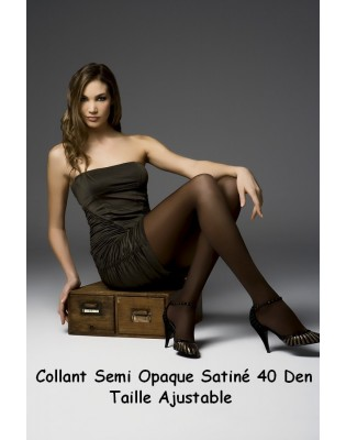 Collant Platino total confort 40 den marron