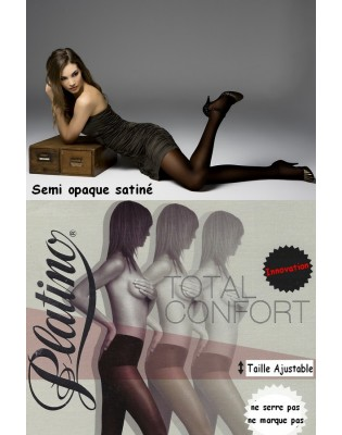 Collant Platino total confort 40 den noir