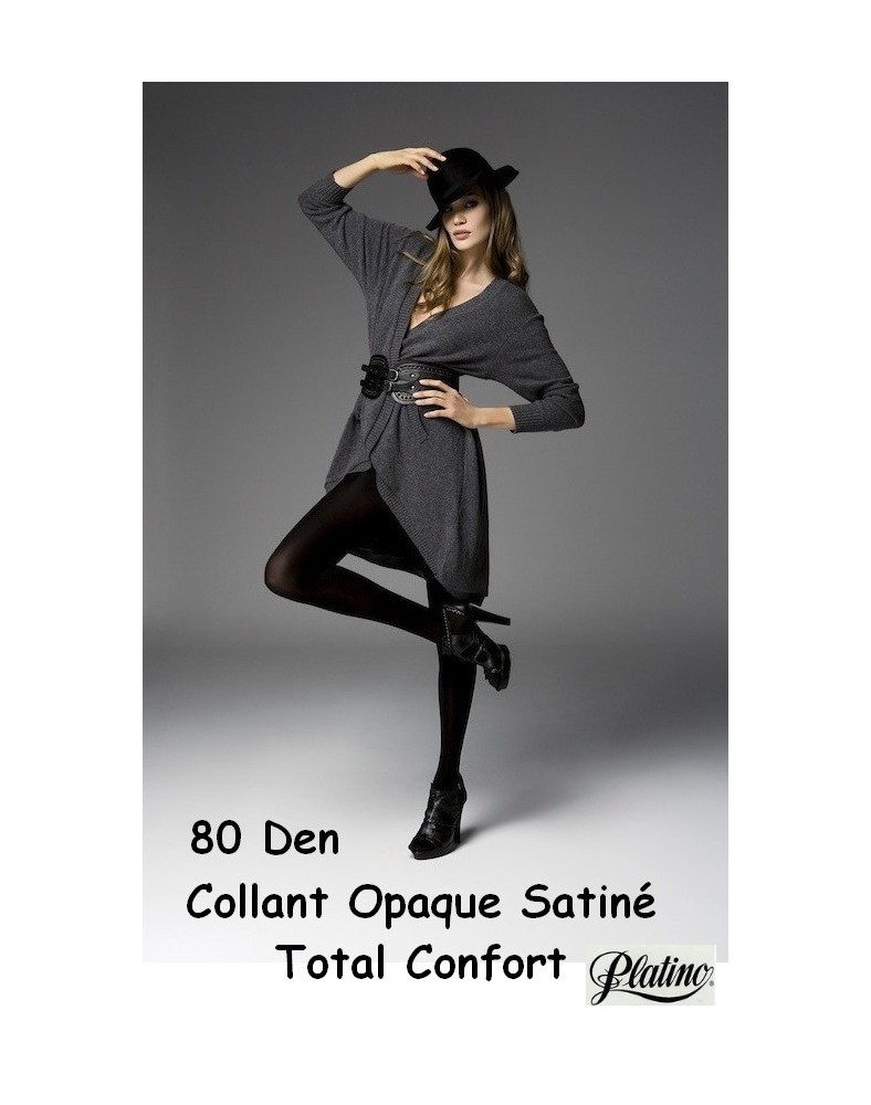 Collant Platino Taille Ajustable 80 Den