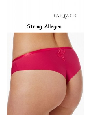 String Fantasie Allegra rouge