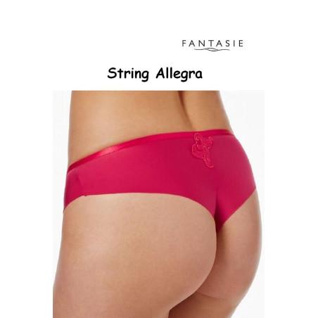 String Fantasie Allegra rouge