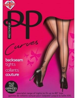 Collant couture et noeud Papillons Pretty Polly