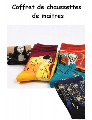 Le coffret de Chaussettes de maitres Peintre