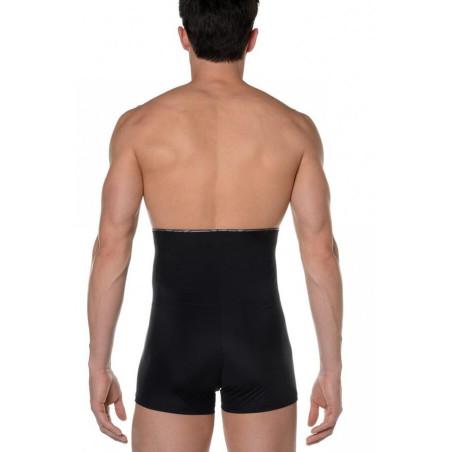 Boxer Hom slim long taille haute