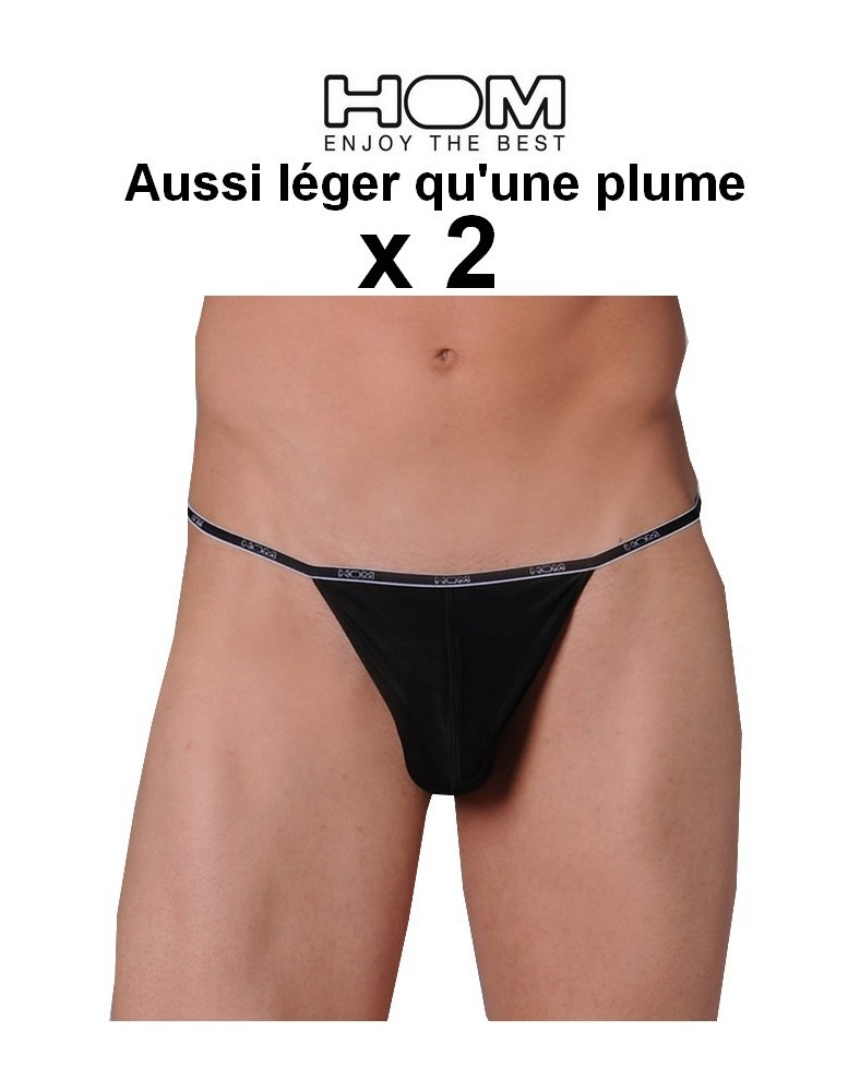 Le String Plume Hom