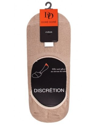 Protége pieds en coton unisex DD peau