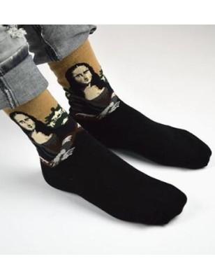 Chaussettes Coton La Joconde art socks