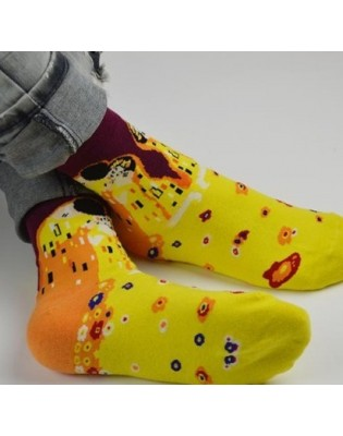 art socks Baiser de Klimt