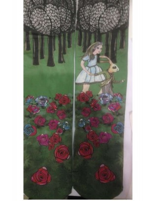 Collant Marieantoilette Enfant Alice aux Pays des Merveilles