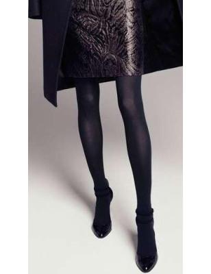 Collant opaque noir Lycra 3D Dolci Calze