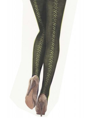 Collant Maille Dolci Calze kaki