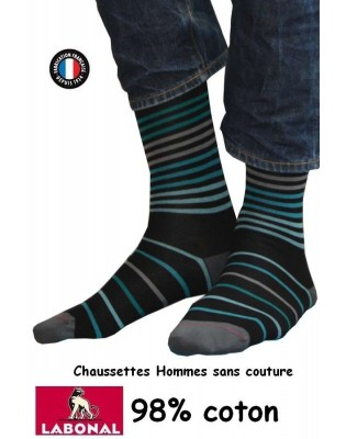 Chaussettes rayures Labonal homme
