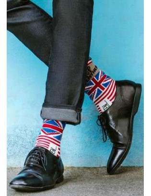 Chaussettes Berthe aux grands pieds Hom collector god save Bethe