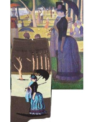 Coffret Chaussettes tableaux  de Maitre Seurat