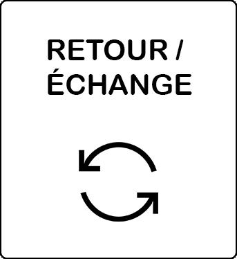 Retour, remboursement et échange